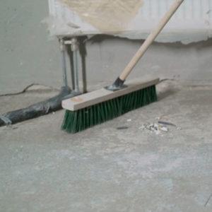 Limpiadores de obra